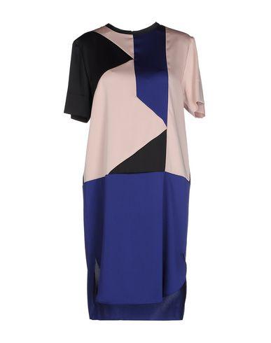 Фото - Женское короткое платье CEDRIC CHARLIER синего цвета