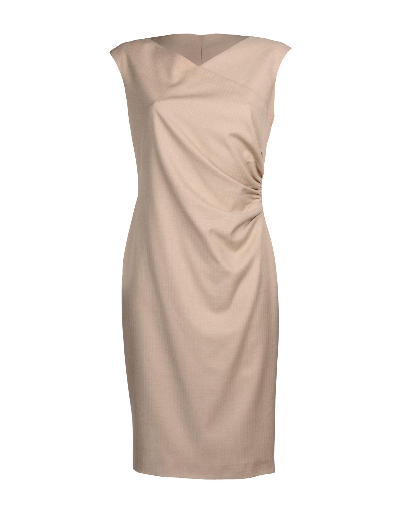 купить RALPH LAUREN BLACK LABEL Платье до колена по цене 22950 рублей