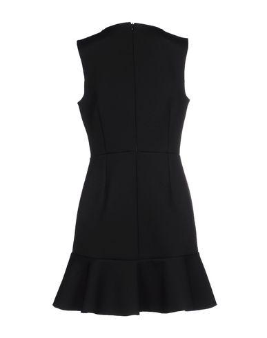 Фото 2 - Женское короткое платье MAISON DIX черного цвета