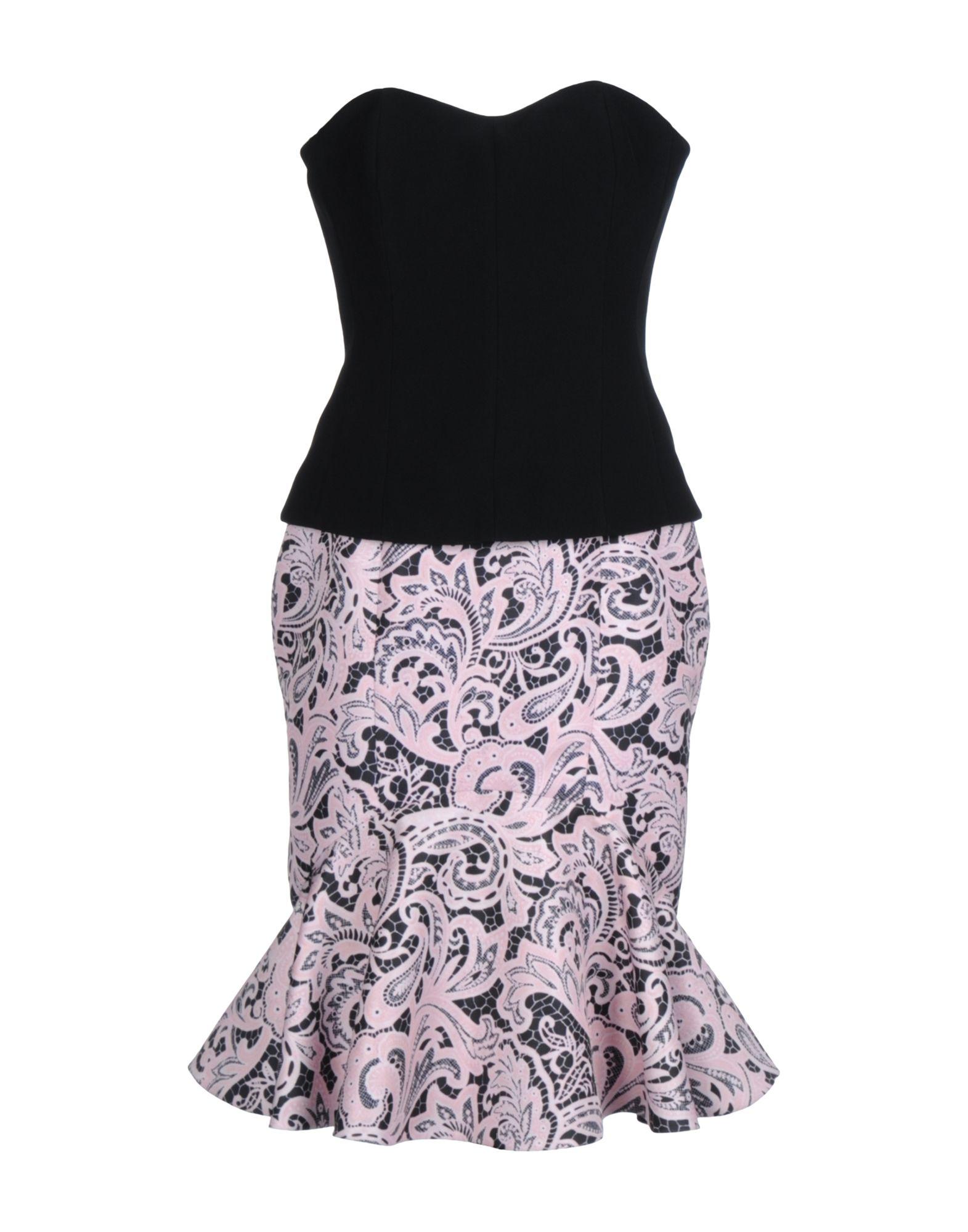 цена MARY KATRANTZOU Короткое платье онлайн в 2017 году