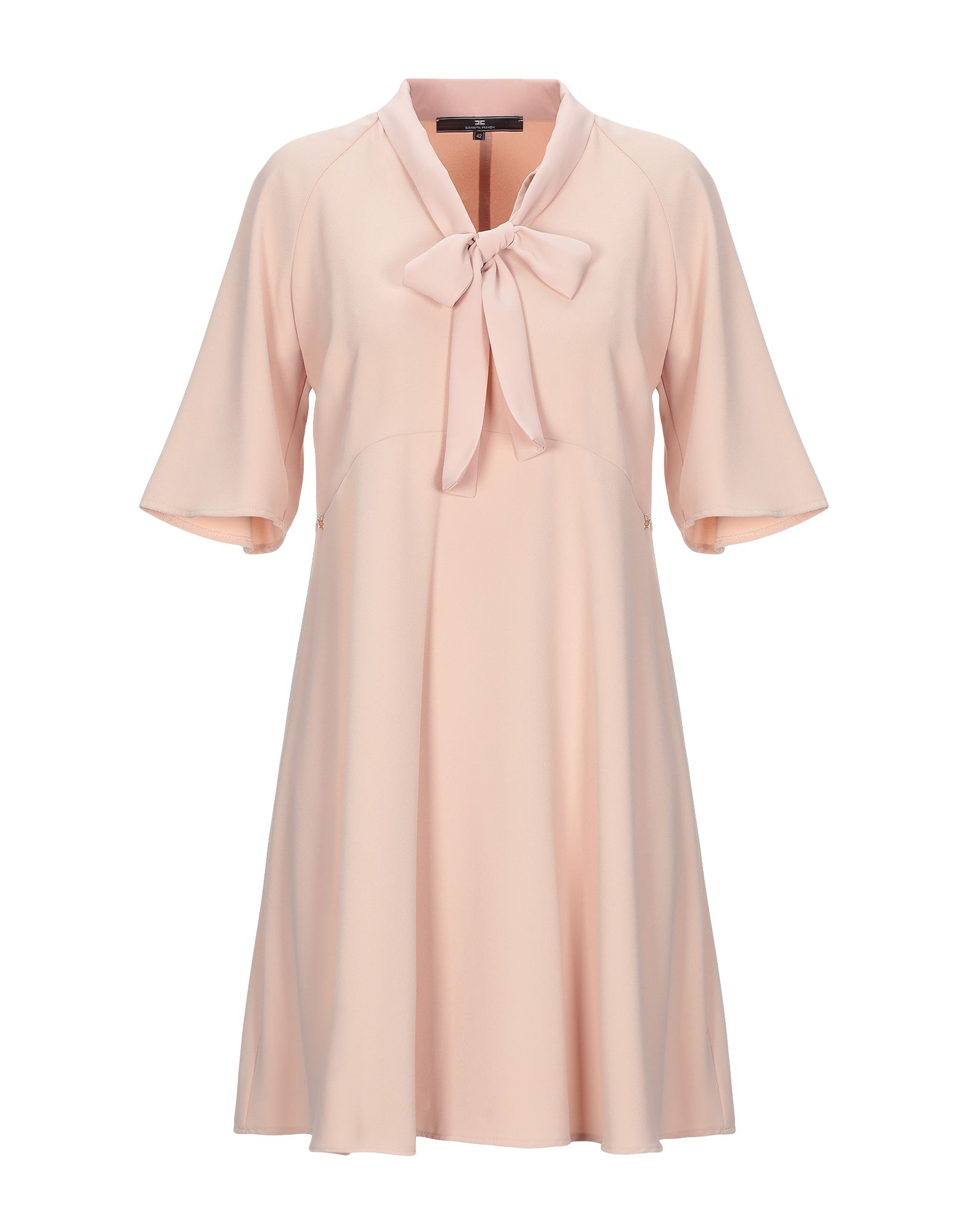 ELISABETTA FRANCHI 24 ORE Короткое платье elisabetta franchi 24 ore топ без рукавов