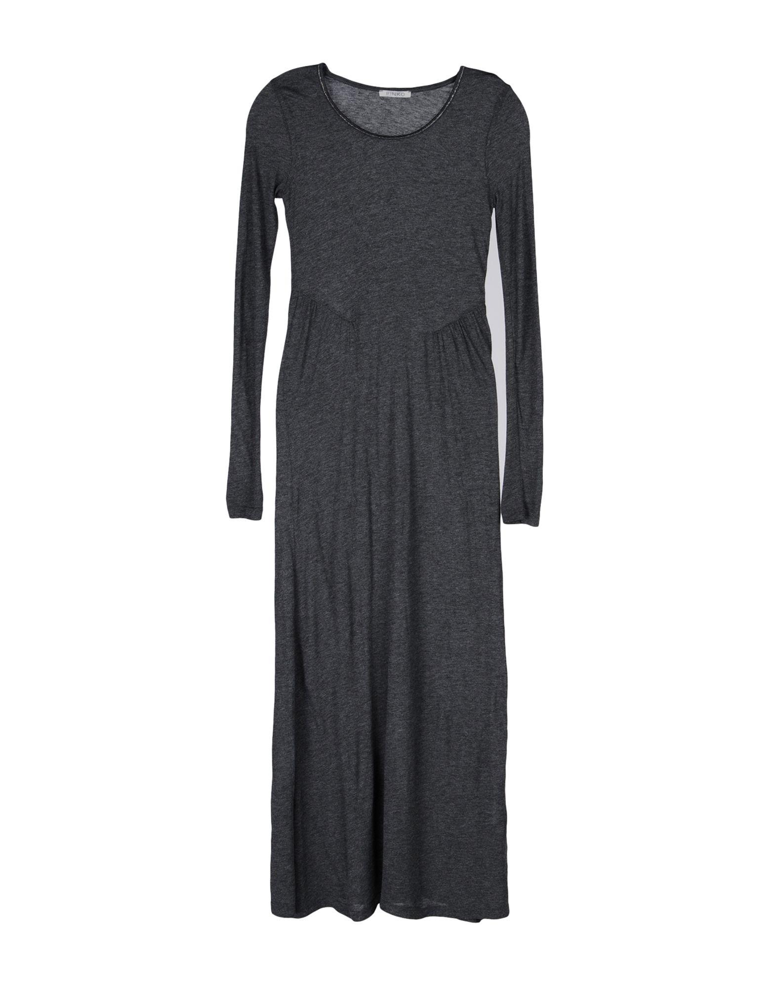 PINKO GREY Длинное платье