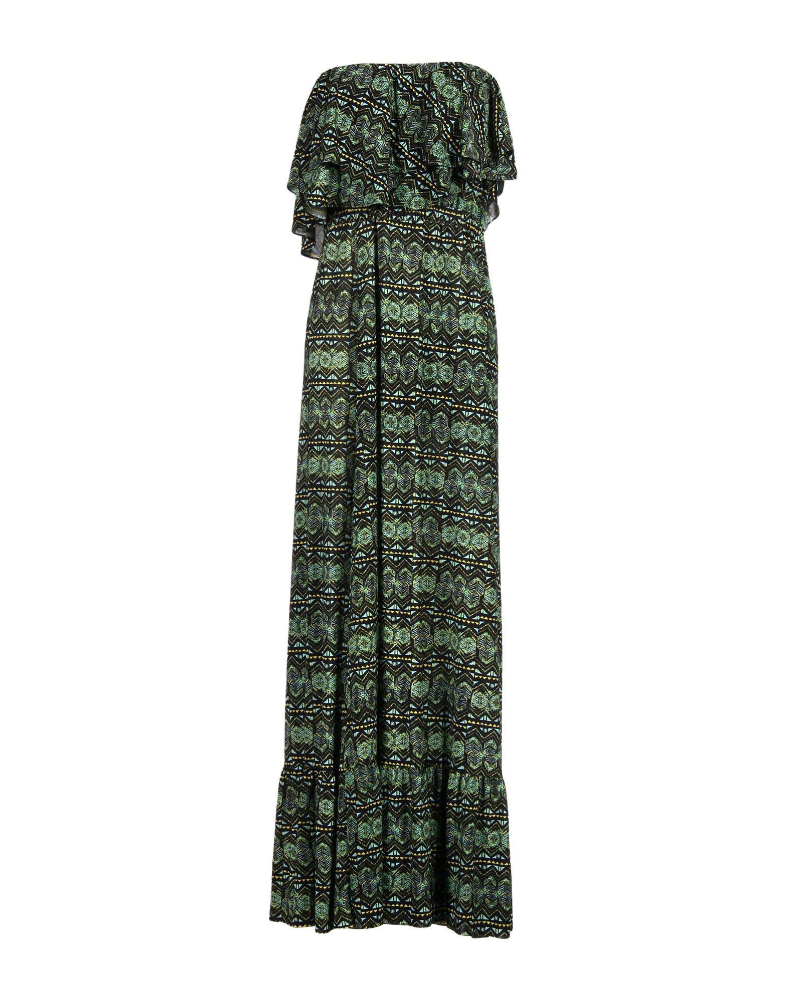 TBAGSLOSANGELES Long Dress in Green