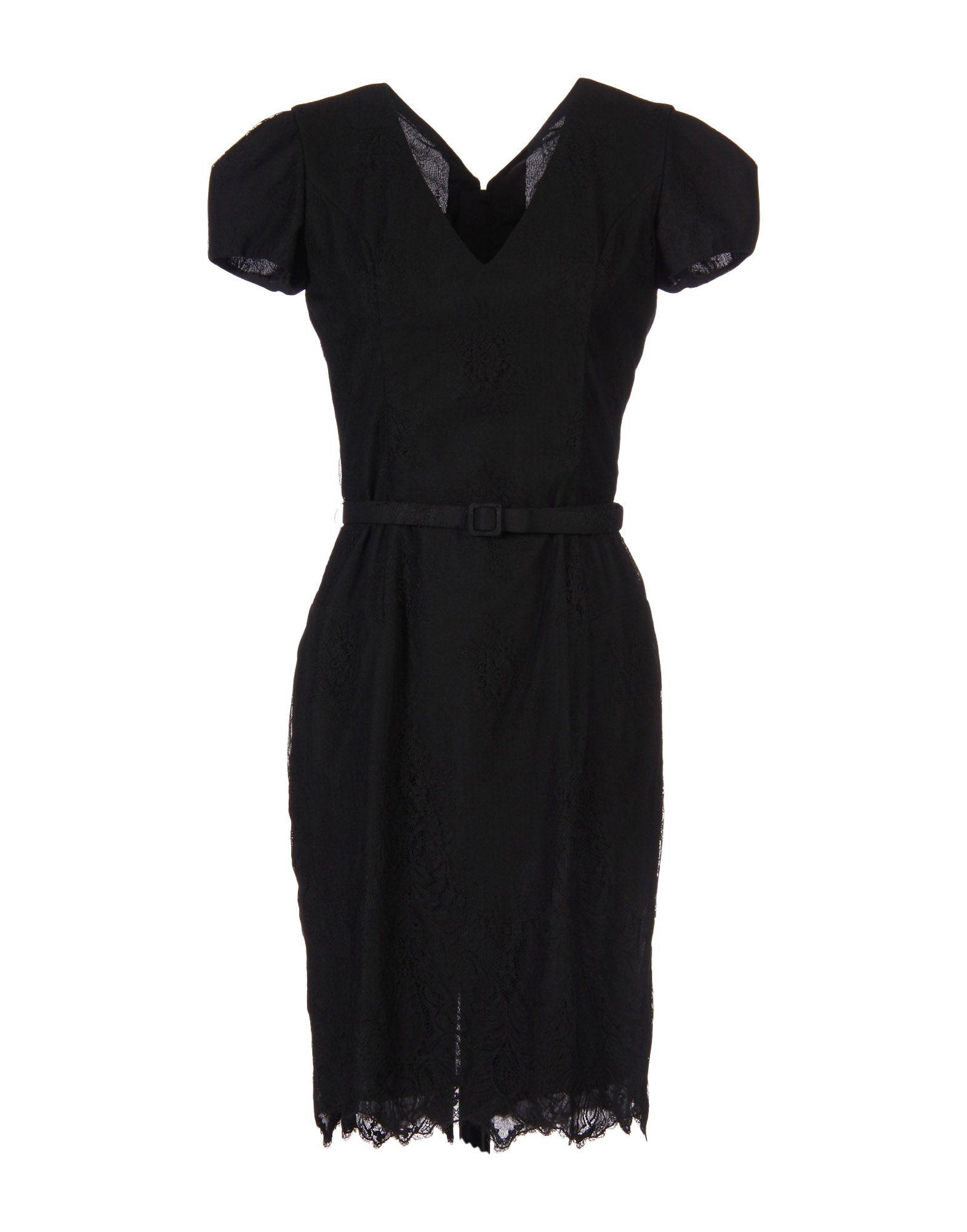 L'WREN SCOTT Short Dress in Black