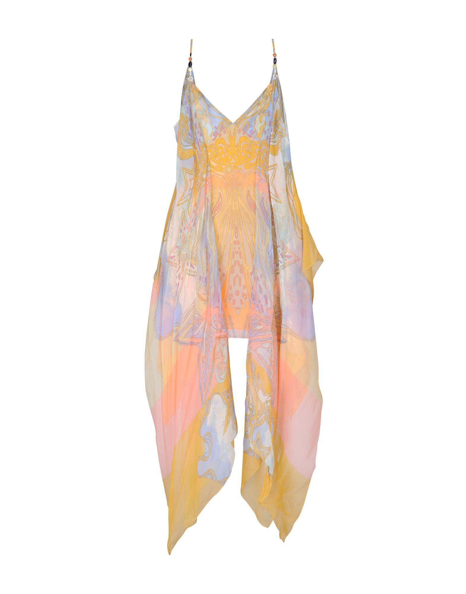 EMILIO PUCCI Платье длиной 3/4 platinor platinor 50200 221