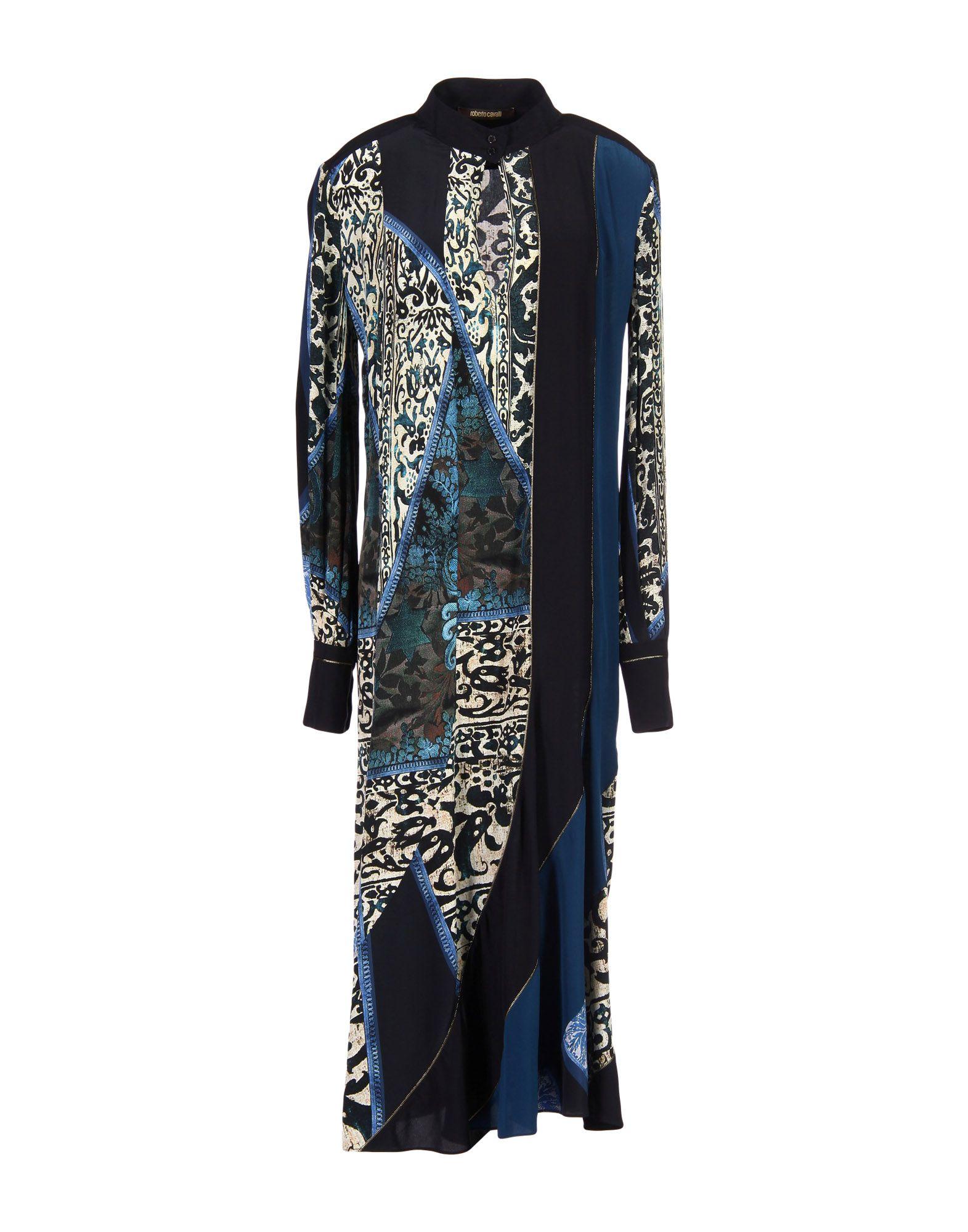 ROBERTO CAVALLI Платье длиной 3/4 джинсы diesel diesel di303emrxt27