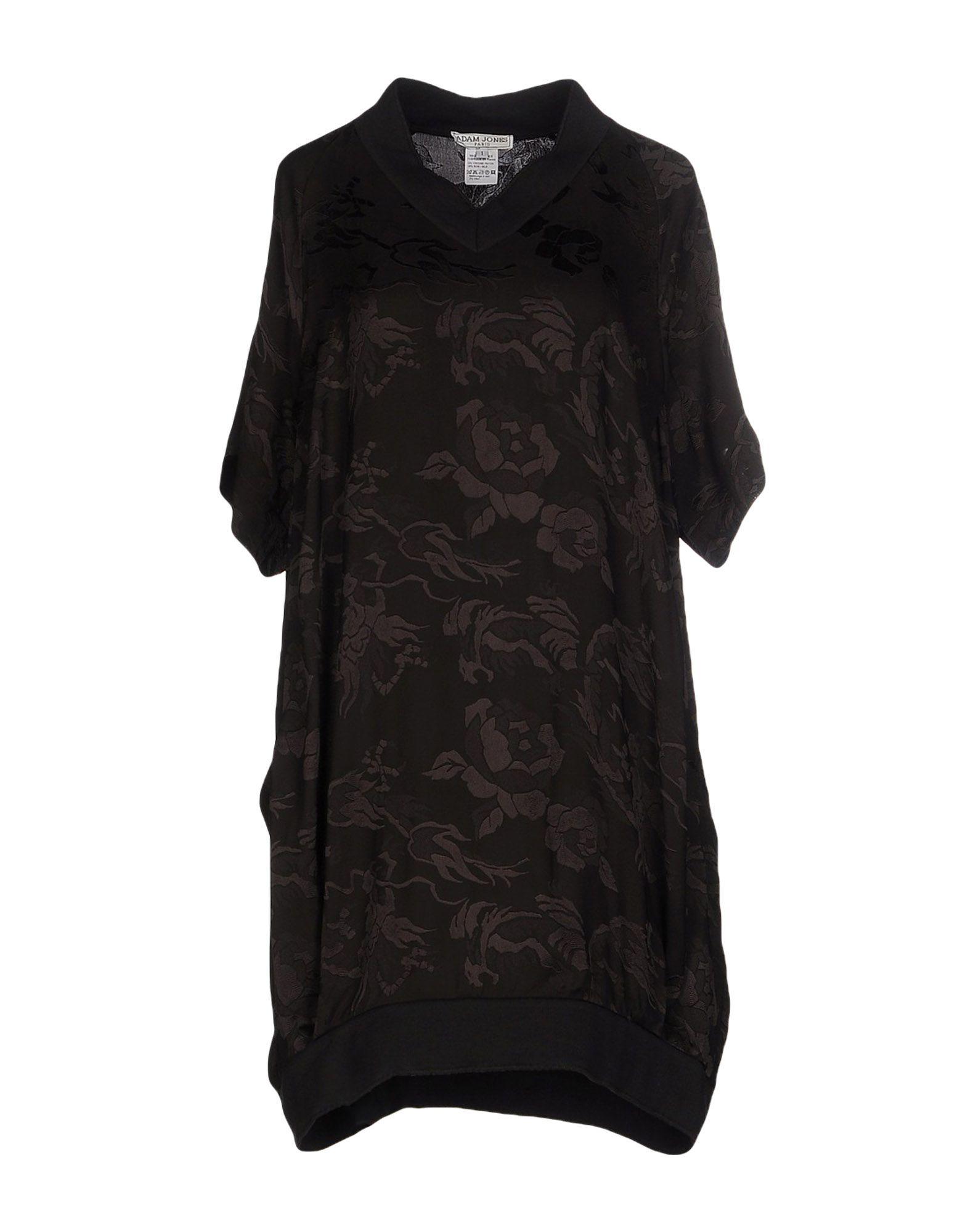 ADAM JONES PARIS Короткое платье adam jones платье из вискозы