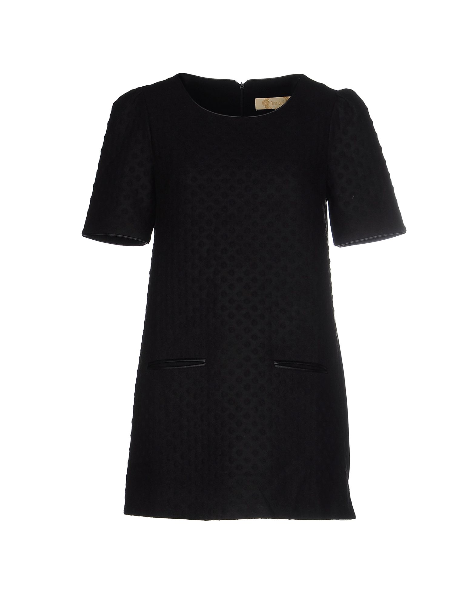 BONSUI Short Dress in Black