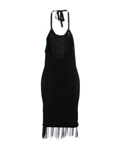 Фото 2 - Женское короткое платье GLAMOROUS черного цвета