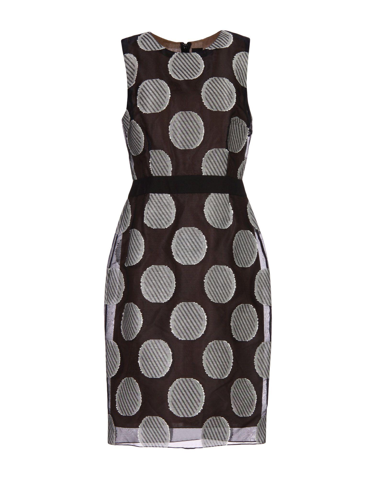 vera wang female vera wang kneelength dresses