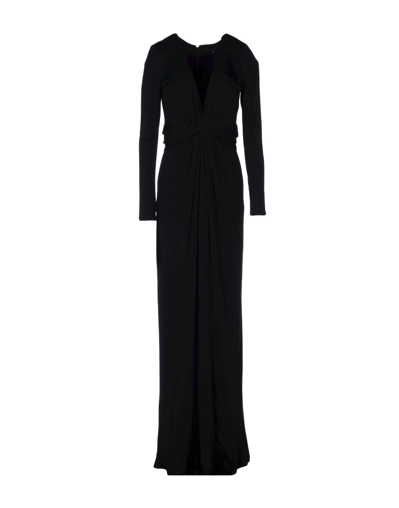 GUCCI Damen Langes Kleid Farbe Schwarz Größe 4