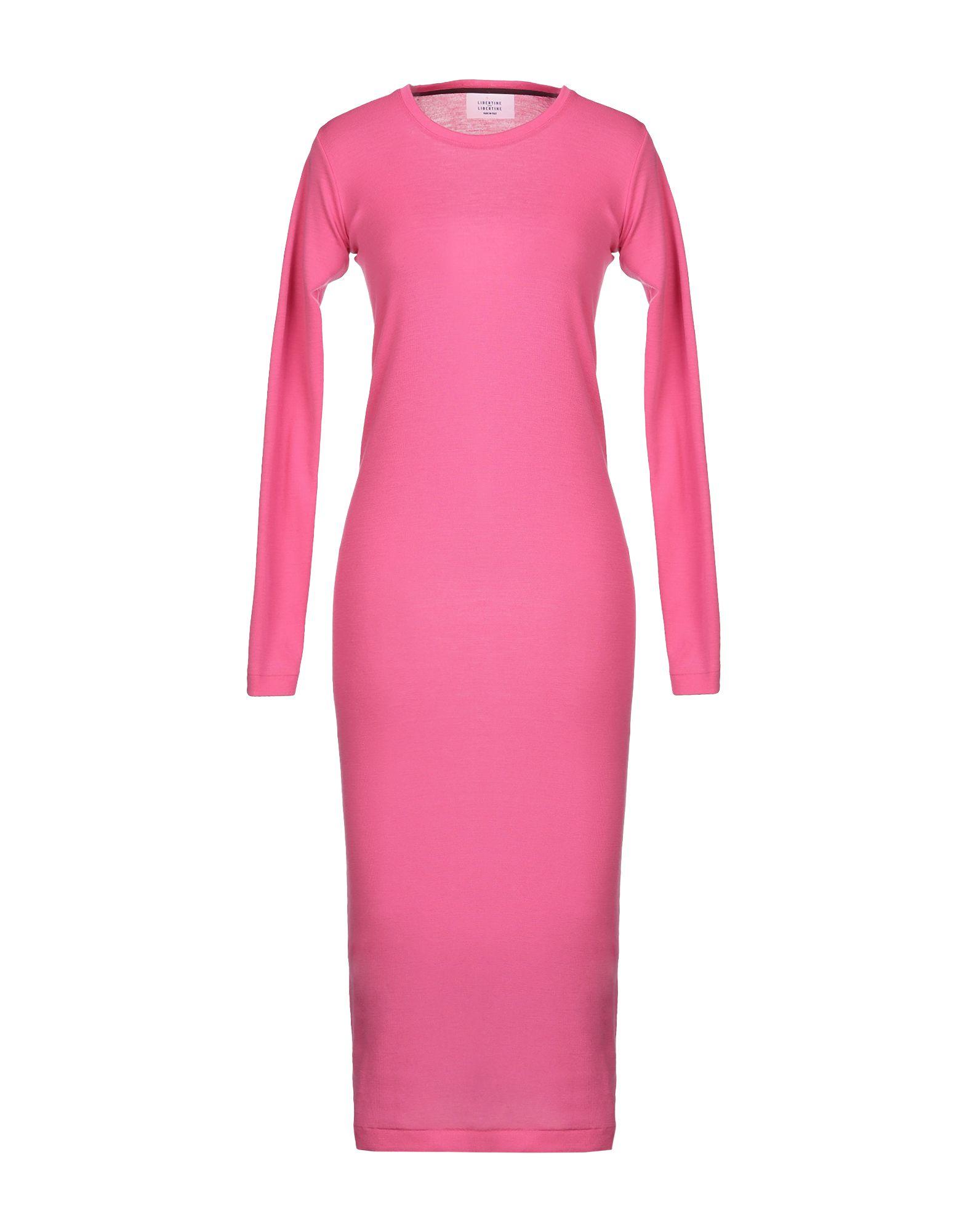 LIBERTINE-LIBERTINE Платье длиной 3/4 carbon fiber front bumper lip splitter spoiler for bmw 3 series gt f34 m sport bumper 4 door 14 17 grey frp 2pc 335i 340i gt