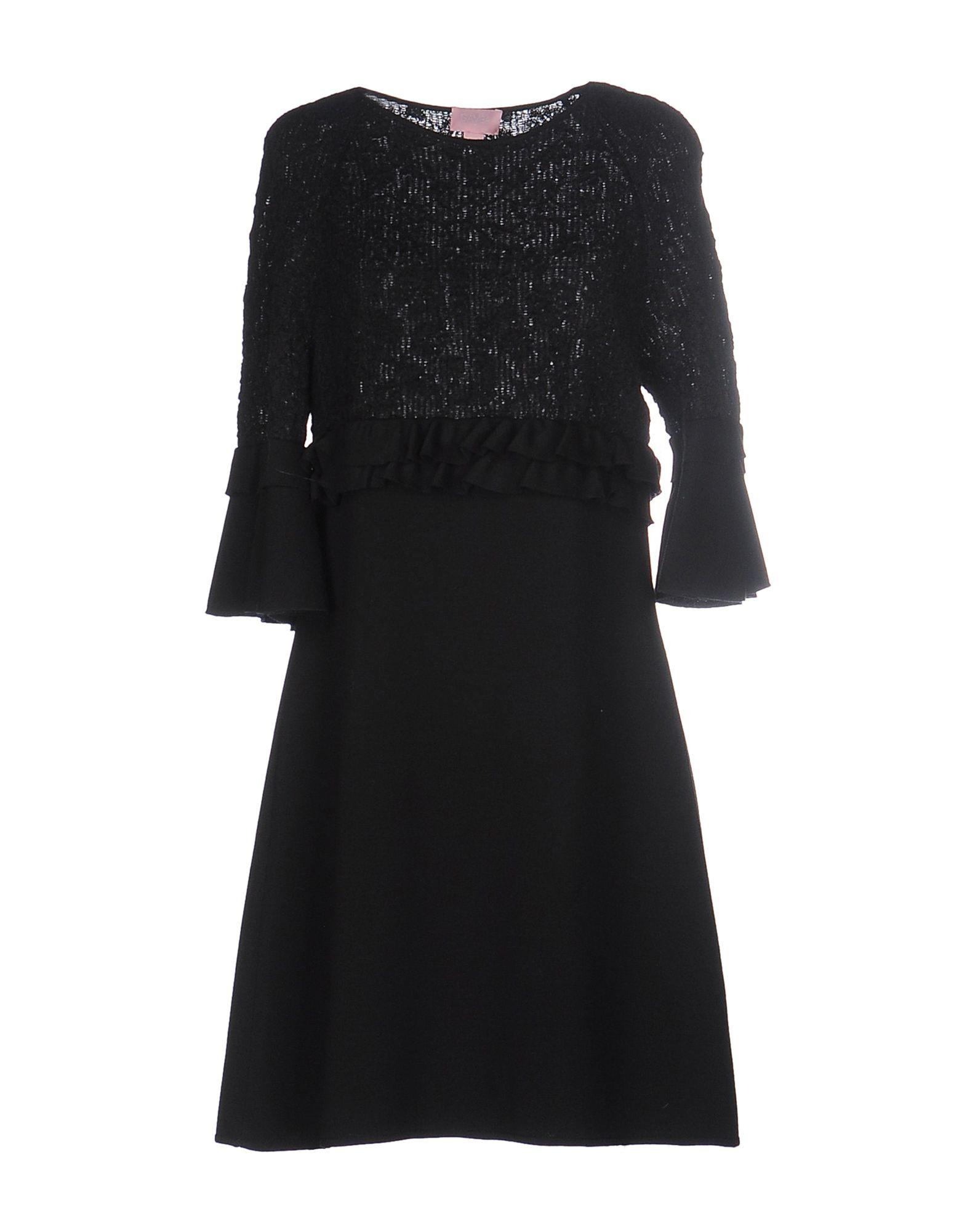 GAMBA Короткое платье lisa corti короткое платье
