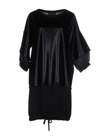 Фото - Женское короткое платье JE SUIS LE FLEUR черного цвета