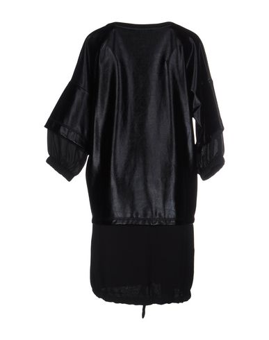 Фото 2 - Женское короткое платье JE SUIS LE FLEUR черного цвета