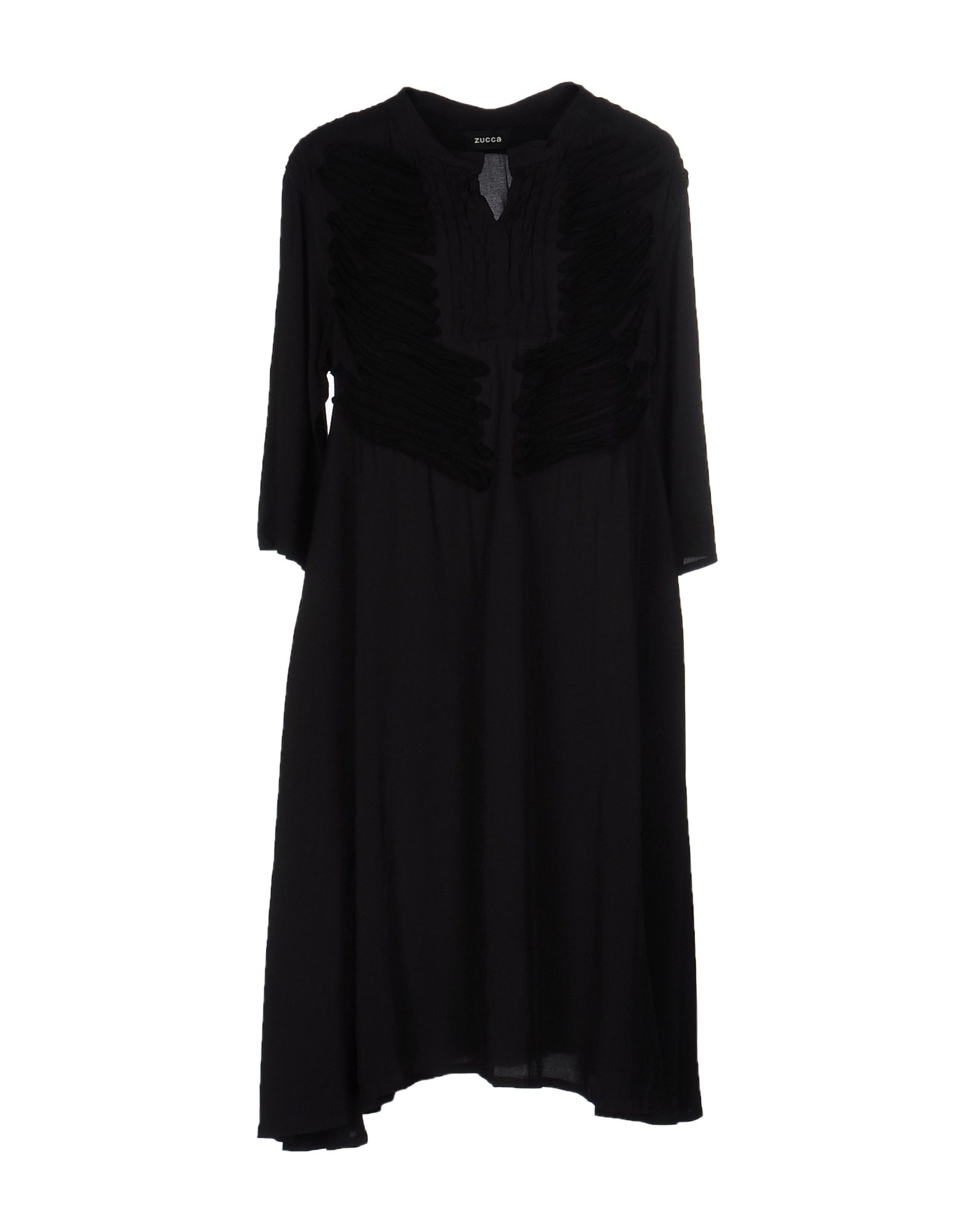 ZUCCA Knee-Length Dress in Black