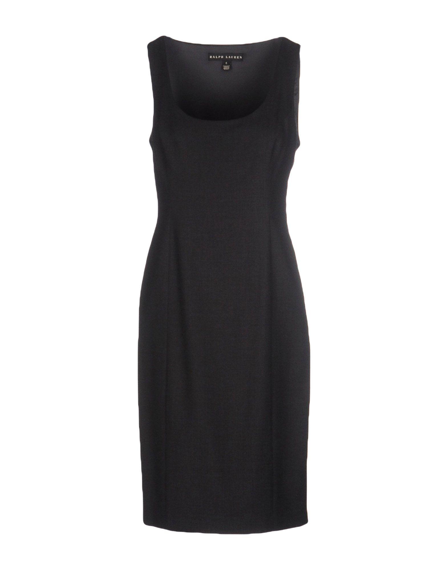 купить RALPH LAUREN BLACK LABEL Платье до колена по цене 21050 рублей