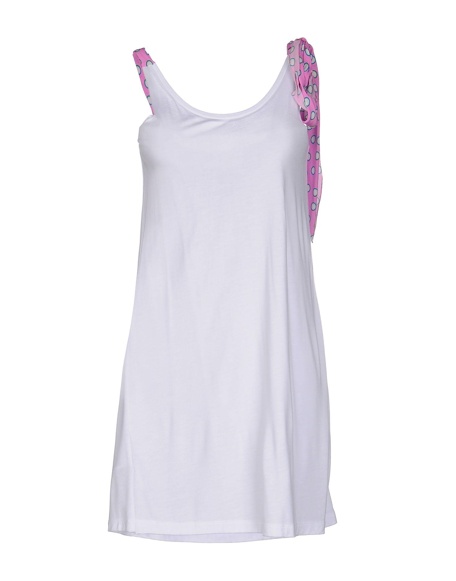MIU MIU Короткое платье miu miu платье длиной 3 4