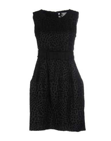 Фото - Женское короткое платье NO SECRETS черного цвета
