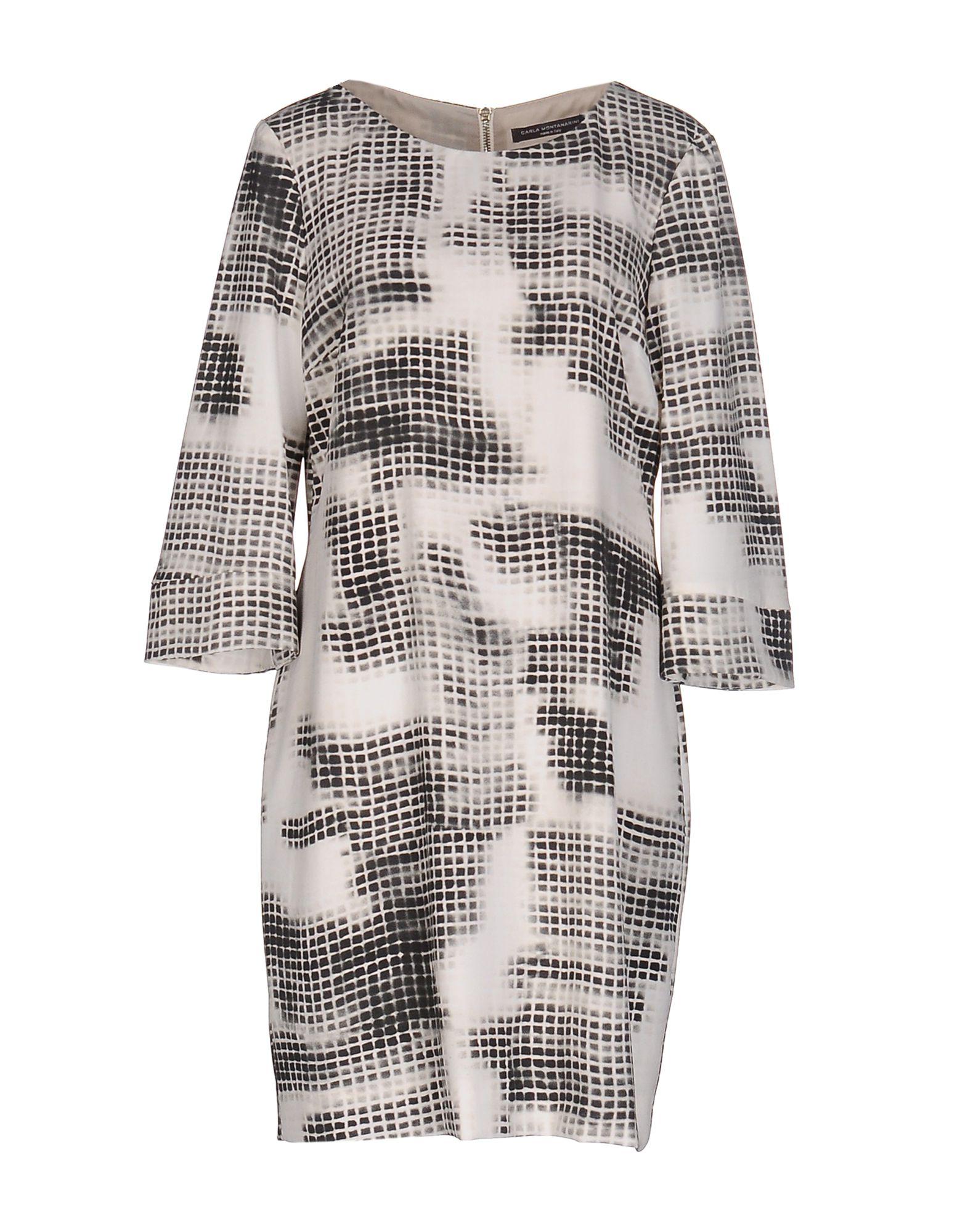 CARLA MONTANARINI Короткое платье carla montanarini блузка