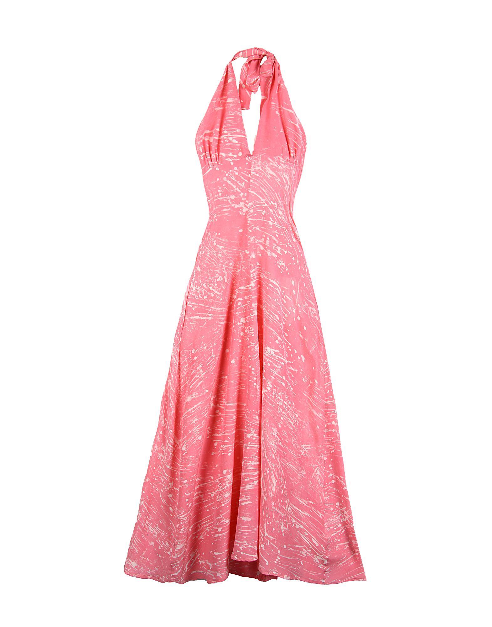 STUDIO 189 Damen Langes Kleid Farbe Fuchsia Größe 4
