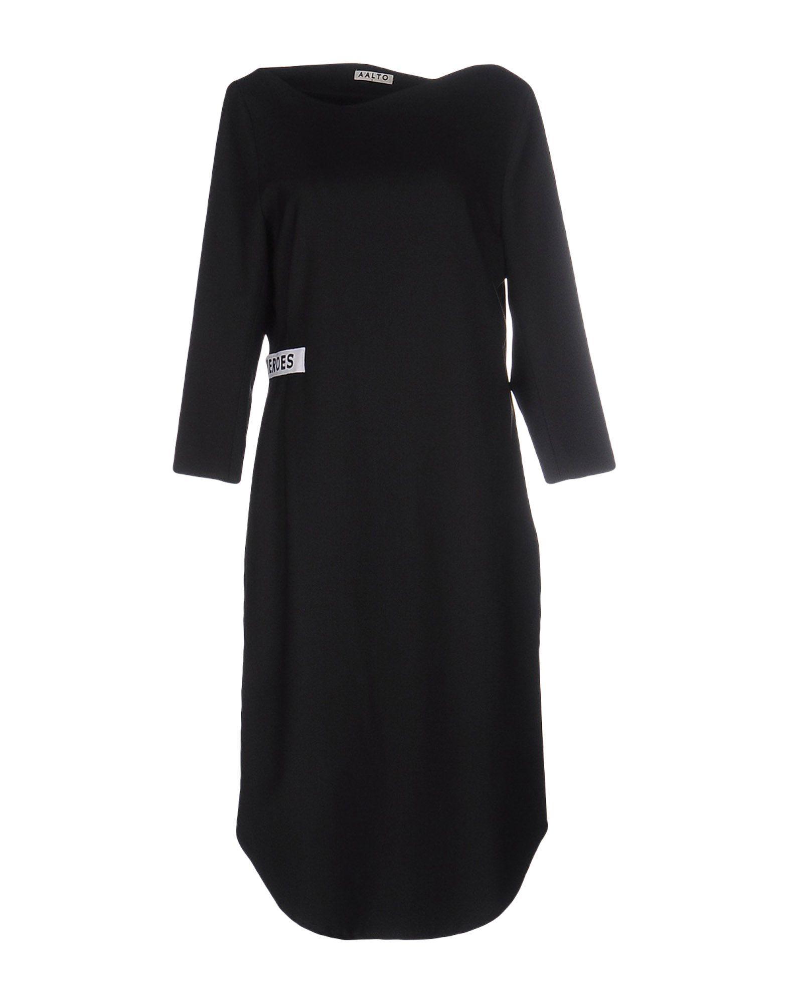 AALTO Платье до колена недорго, оригинальная цена