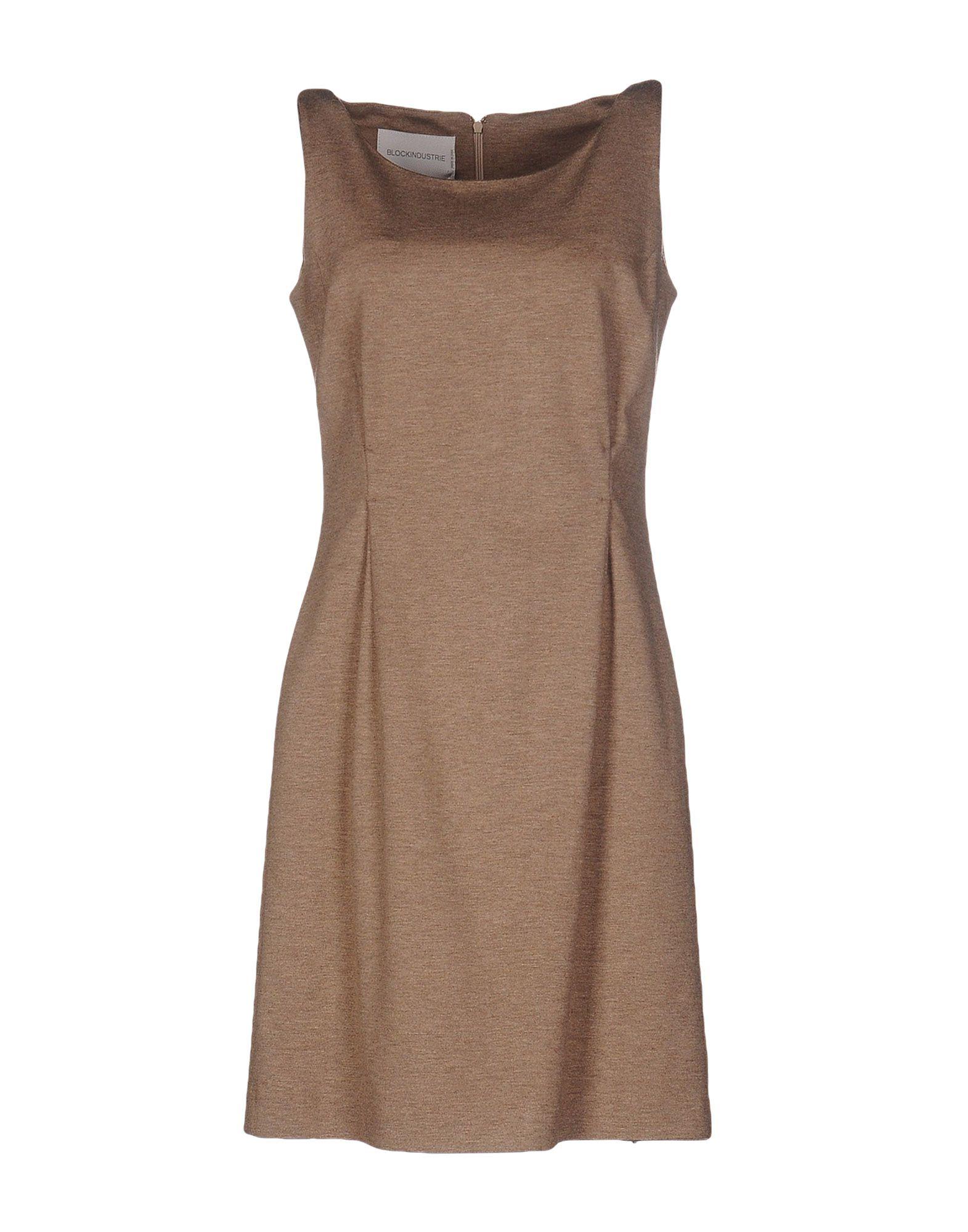 где купить BLOCKINDUSTRIE Короткое платье по лучшей цене