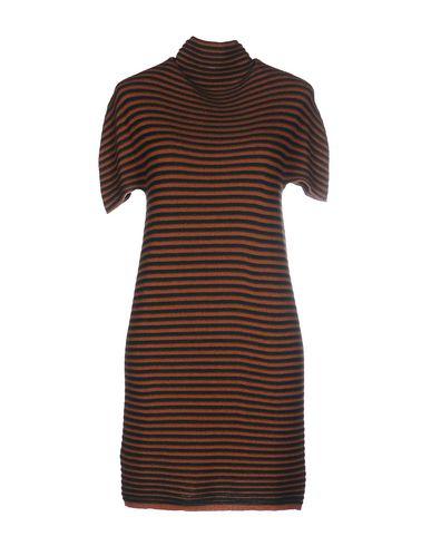 Фото - Женское короткое платье VANISÉ коричневого цвета