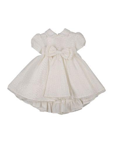 ALETTA Baby Kleid Elfenbein Größe 6 72% Polyester 10% Acryl 8% Polyamid 5% Wolle 5% Mohair