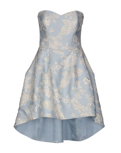 Фото - Женское короткое платье FRANCESCA PICCINI небесно-голубого цвета