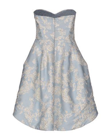 Фото 2 - Женское короткое платье FRANCESCA PICCINI небесно-голубого цвета