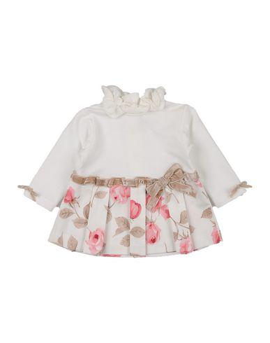 ALETTA Baby Kleid Weiß Größe 1 95% Baumwolle 5% Elastan