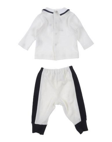 ALETTA Baby Sweat-Outfit Weiß Größe 1 80% Baumwolle 20% Polyamid