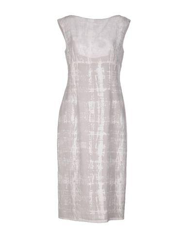 Фото - Платье до колена от MASSIMO REBECCHI TDM белого цвета