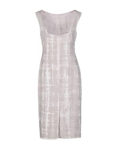 Фото 2 - Платье до колена от MASSIMO REBECCHI TDM белого цвета