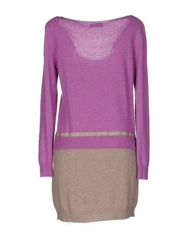 Фото 2 - Женское короткое платье VANISÉ розовато-лилового цвета