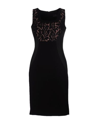Фото - Платье до колена от CAMILLA CONTE черного цвета