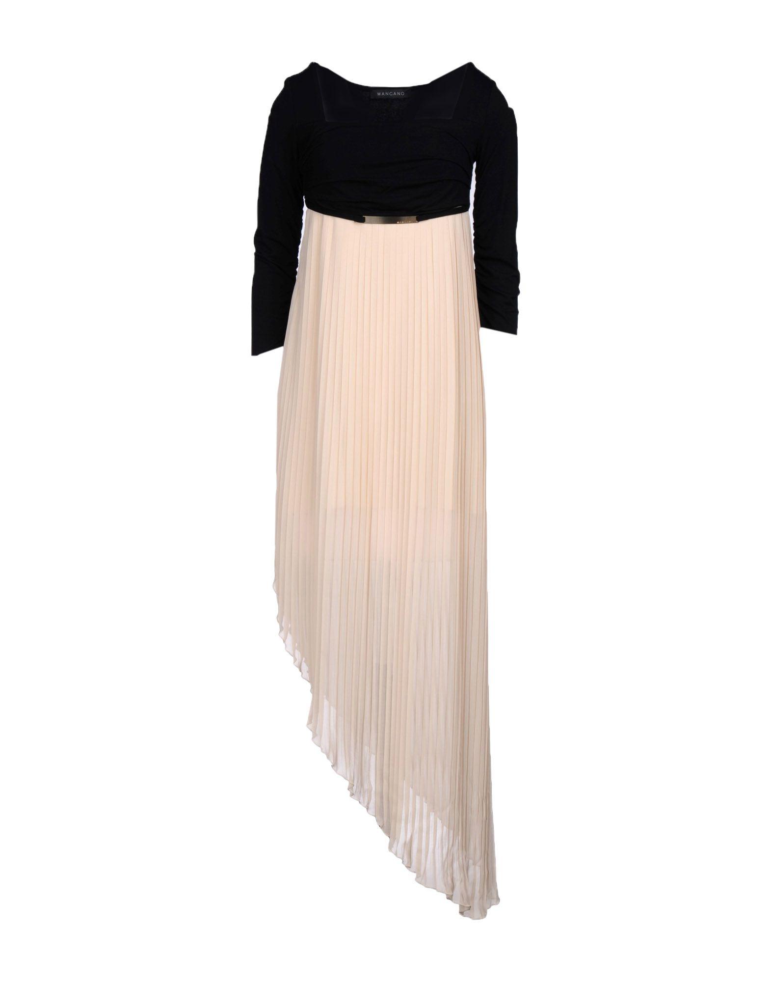 MANGANO Платье до колена velvet платье до колена