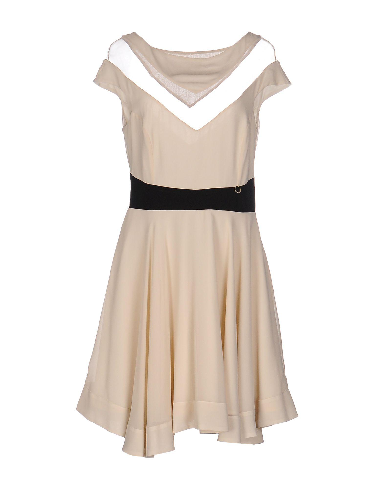 MANGANO Короткое платье недорго, оригинальная цена