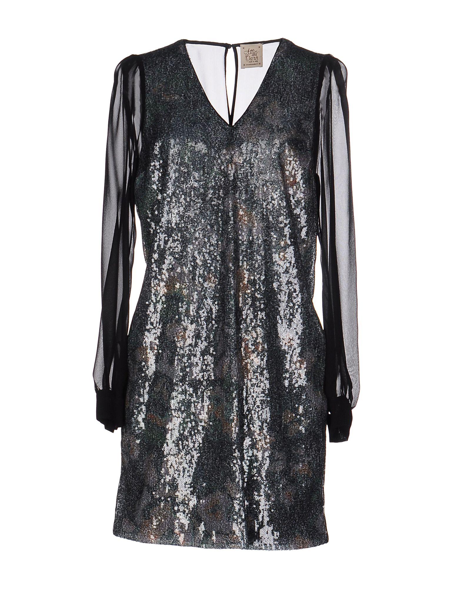 ATTIC AND BARN Короткое платье