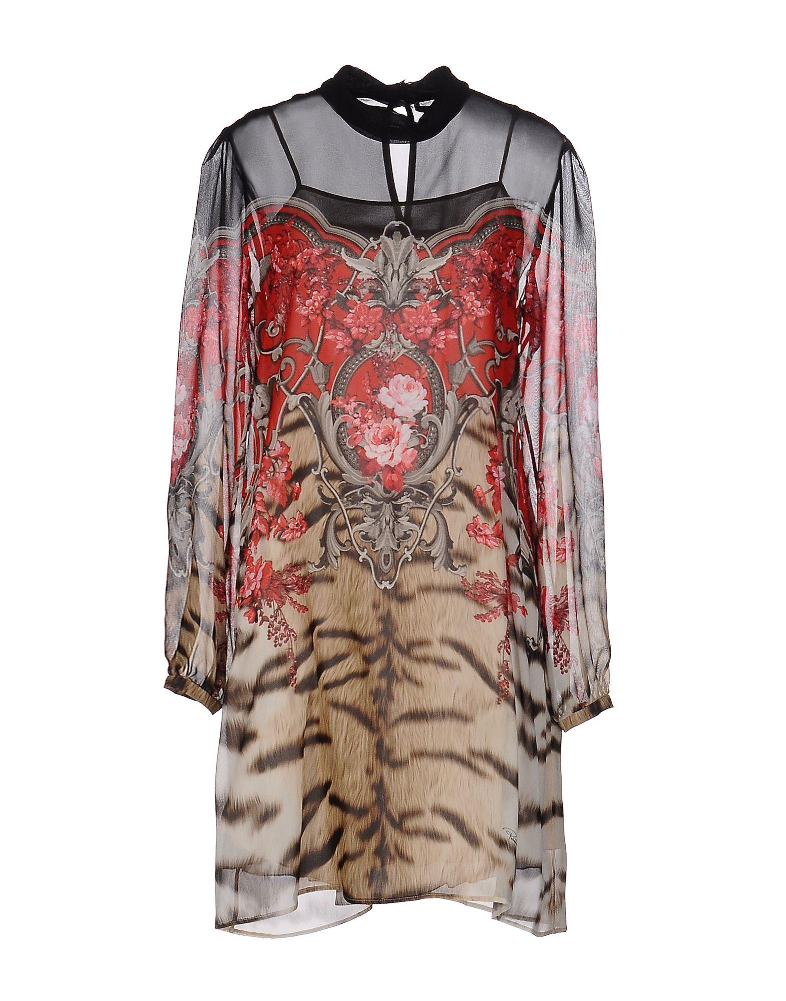 купить ROBERTO CAVALLI Короткое платье по цене 30950 рублей