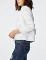 ARMANI EXCHANGE Double-Hem Jacket 3/4 sleeve blazers Woman d