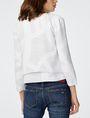 ARMANI EXCHANGE Double-Hem Jacket 3/4 sleeve blazers Woman r