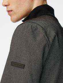 ARMANI EXCHANGE Woven Paneled Mockneck Jacket Jacket [*** pickupInStoreShippingNotGuaranteed_info ***] e