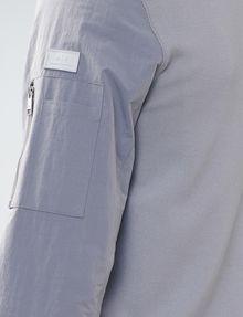 ARMANI EXCHANGE Two-Tone Nylon Baseball Jacket Jacket U e