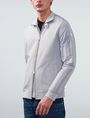 ARMANI EXCHANGE Two-Tone Nylon Baseball Jacket Jacket Man f
