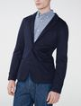 ARMANI EXCHANGE Knit Patch Pocket Blazer Two buttons blazers U d