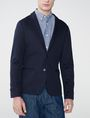 ARMANI EXCHANGE Knit Patch Pocket Blazer Two buttons blazers U f