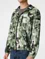 ARMANI EXCHANGE Aerial Camo Zip-Up Hoodie Jacket U e