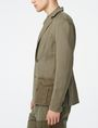 ARMANI EXCHANGE Two-Tone Linen Blazer Two buttons blazers Man d